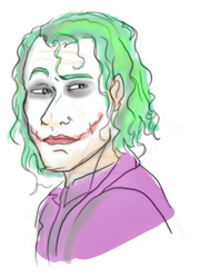 Tumblr Sketch of Joker by Anomalies13