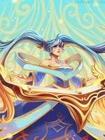 Sona Buvelle by RinTheYordle