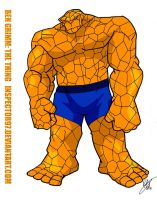 Ben Grimm The Thing by Inspector97