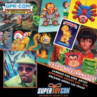 I'll be a guest at SuperToyCon and GPK-Con Aug 5-7 by DeJarnette