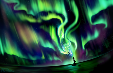 Celestial Vail by AuroraLion