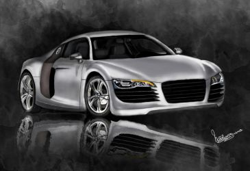 Audi R8 by natiwar02