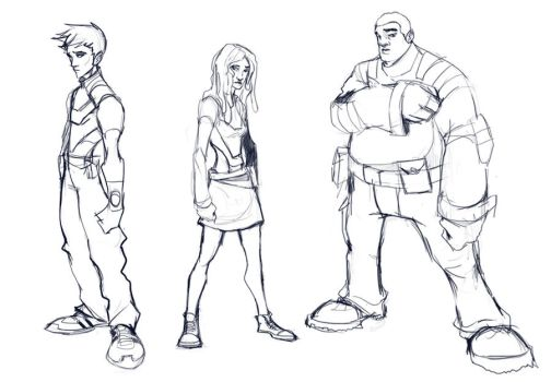 Unknown character teens by skechitYAS