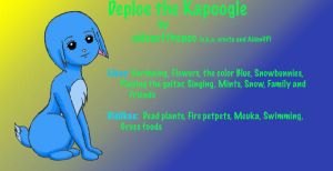 Kacheek plus Poogle? by AidenVP