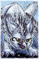 ACEO_Silvermoonnw by Kyuush