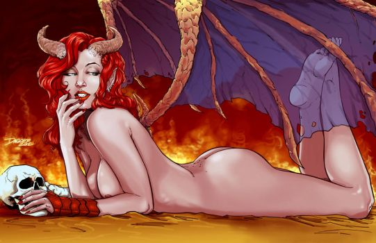 The Succubus by DaggerPoint