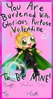 Kneel Valentine!!! by Checker-Bee
