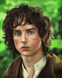 Frodo Re-paint by Beth-Gilbert