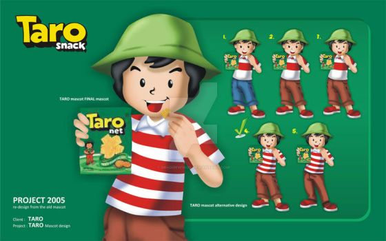 Taro Mascot by dr4g0nw1ngs