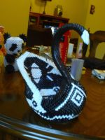Swan Centerpiece by OneLoneTree