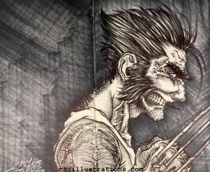 Wolverine by cac-illustrations