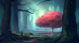 The Heart Tree by venrin