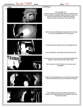 Banshee Chapter - Storyboard sample-  Page 121 by rdricci