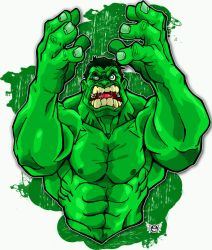 THE HULK by JUANPUIS