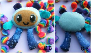 Little space monster plushie by TheChgz