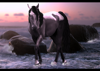 Water Horse by Melancholiest