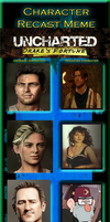 Uncharted: Drake's Fortune Recast by MarioFanProductions