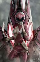Pink Ranger by CarlosDattoliArt