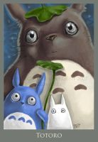 Totoro by VisionCrafter