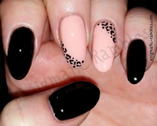 Animal Print Nails by EnigmaticRambles