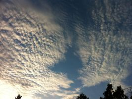 Clouds on the sky 3 by LunaticNate