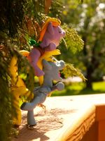 :Commission: Ditzy and Dinky 4 by dustysculptures