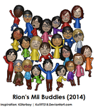 Rion's Mii Buddies (2014) by StarRion20