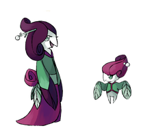 Flower fakemon by Kipine