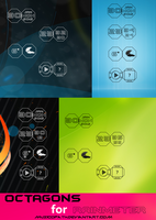 OCTAGONS for Rainmeter by musicopath