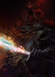 Lord of the Nazgul by Blackhood-art