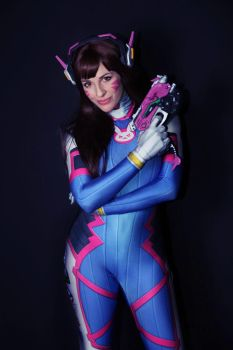 D.va - Overwatch by GiuliaZelda