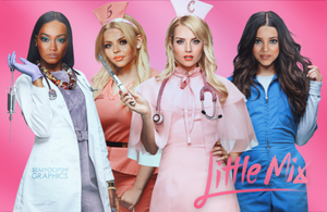 Little Mix as Scream Queens by BeMyOopsHi