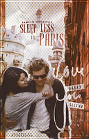 Sleepless In Paris // Book Cover by moonxriver