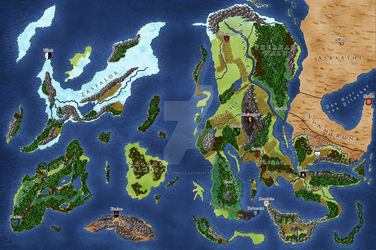 Commission: Map for Elyrien by Tekila-onRice