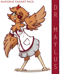 Dr Maylus - AWESOME FANART PACK by SilverBlazeBrony