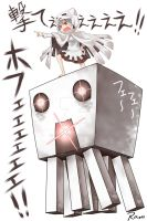 Minecraft chibi gast 2 by AT-2