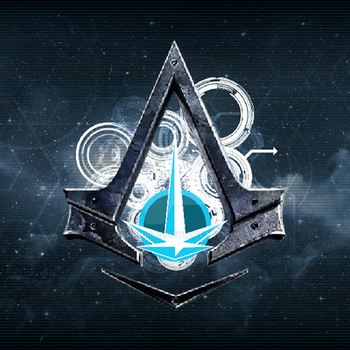Assassins Of The Nexus Peace Core Space Logo 1 by Sapphiros