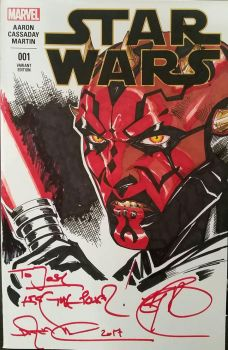 Darth Maul Colors by SaviorsSon