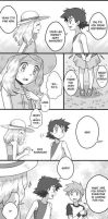 Amourshipping scene. (Pg.2) by deimante2001