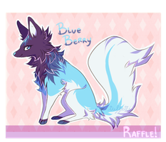 [ FREE RAFFLE ] Blue Berry Fox [ CLOSED ] by tuffetti