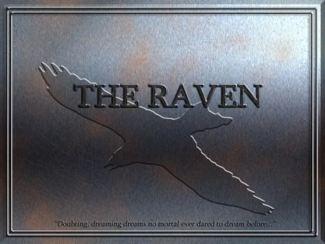 USS Raven Dedication Plaque by samuelkowal906