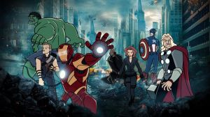 The Avengers by immilesaway