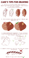 tutorial|Cake's tips for drawing by Cakeindafridge