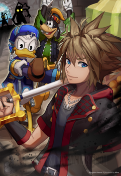 To the Kingdom of Hearts by HiroSenpaiArt