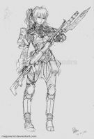 Female Rifleman by MeganeRid