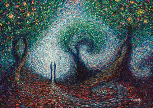 Two Souls by eddiecalz