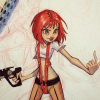 Leeloo Dallas by ChrissieZullo