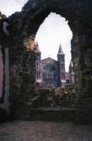 St Davids Cathedral, Pembrokeshire, Wales by buttercupminiatures