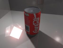 coca cola can by sidath