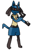 Lucario by Mighty355